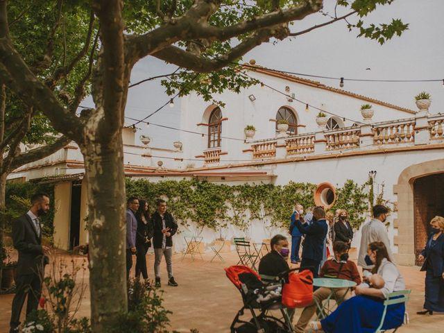 La boda de David y Vanesa en L' Ametlla Del Valles, Barcelona 48