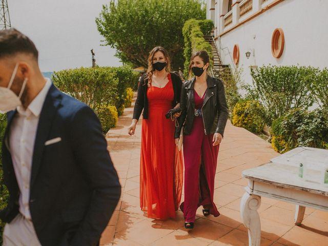 La boda de David y Vanesa en L' Ametlla Del Valles, Barcelona 50