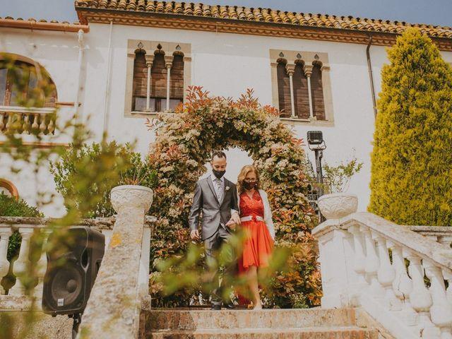 La boda de David y Vanesa en L' Ametlla Del Valles, Barcelona 53