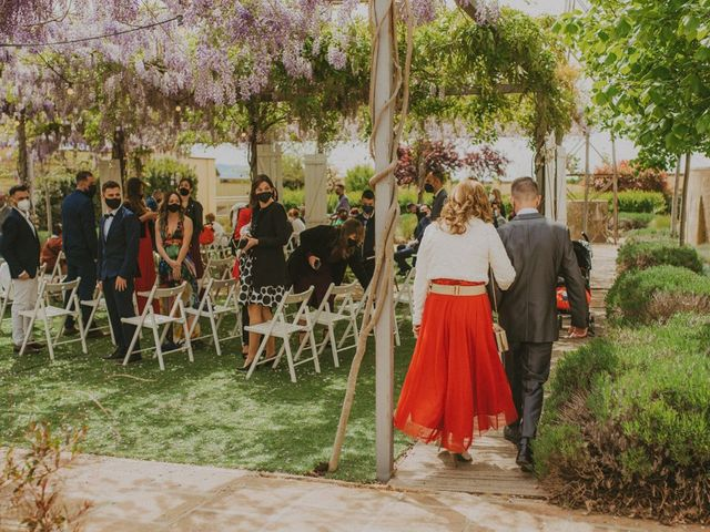 La boda de David y Vanesa en L' Ametlla Del Valles, Barcelona 54