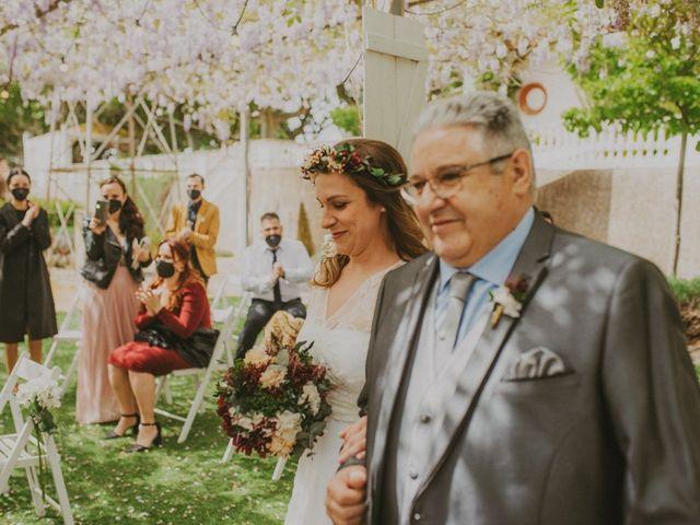 La boda de David y Vanesa en L' Ametlla Del Valles, Barcelona 61