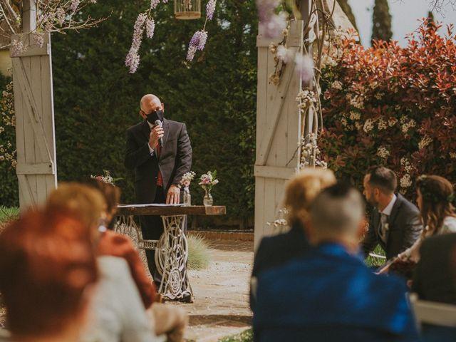 La boda de David y Vanesa en L' Ametlla Del Valles, Barcelona 70