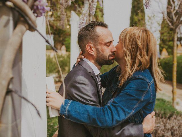 La boda de David y Vanesa en L' Ametlla Del Valles, Barcelona 75