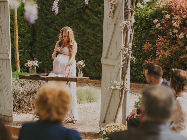 La boda de David y Vanesa en L' Ametlla Del Valles, Barcelona 81