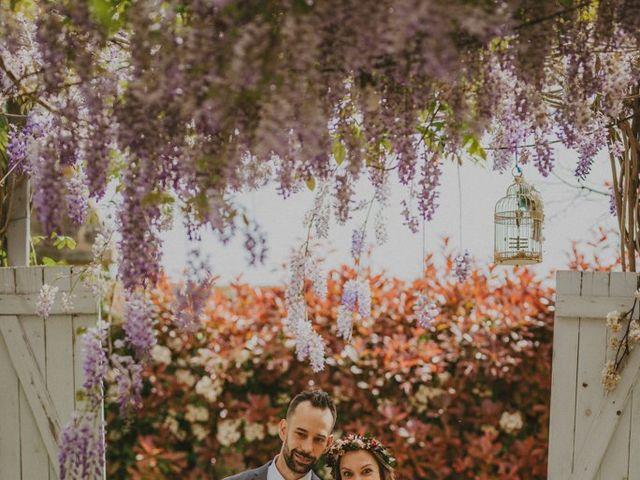 La boda de David y Vanesa en L' Ametlla Del Valles, Barcelona 92
