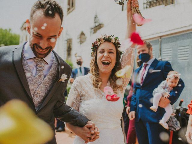 La boda de David y Vanesa en L' Ametlla Del Valles, Barcelona 95