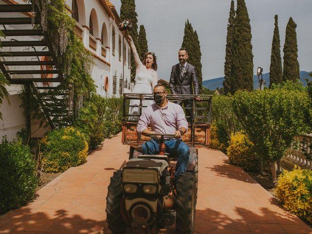 La boda de David y Vanesa en L' Ametlla Del Valles, Barcelona 107