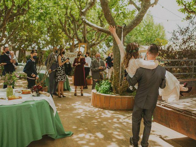 La boda de David y Vanesa en L' Ametlla Del Valles, Barcelona 110