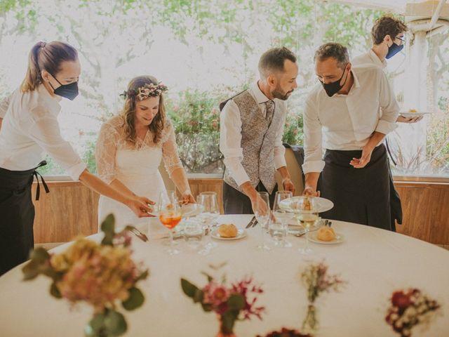La boda de David y Vanesa en L' Ametlla Del Valles, Barcelona 136