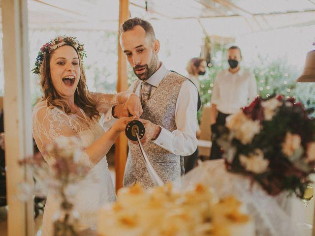 La boda de David y Vanesa en L' Ametlla Del Valles, Barcelona 154