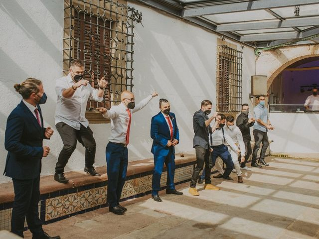 La boda de David y Vanesa en L' Ametlla Del Valles, Barcelona 176