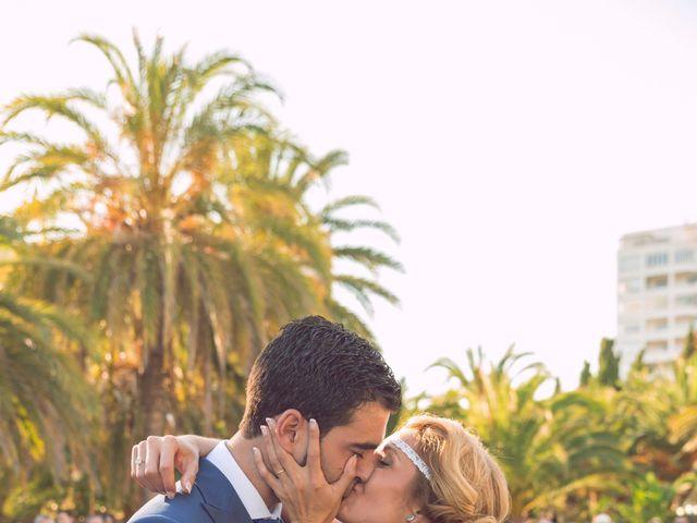 La boda de Juan Manuel y Lidia en La/villajoyosa Vila Joiosa, Alicante 10