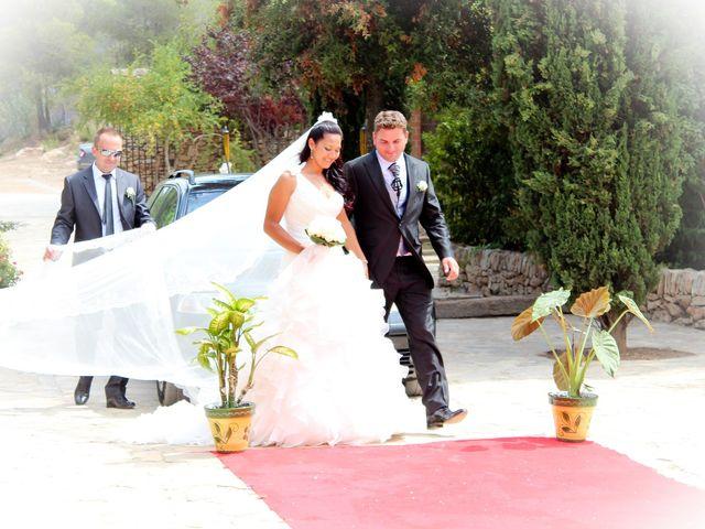 La boda de Lucaz y Nancy en Montferri, Tarragona 17