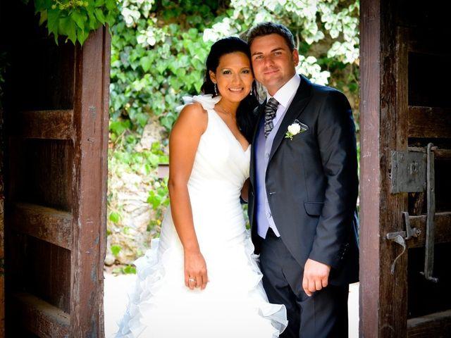 La boda de Nancy y Lucaz