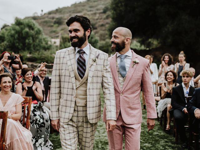 La boda de Borja y Manuel en Las Palmas De Gran Canaria, Las Palmas 25