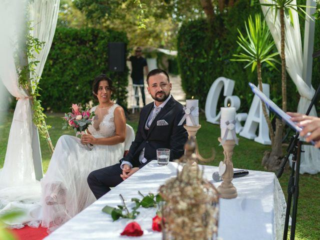 La boda de Cristian y Adelina en El Priorat De Banyeres, Tarragona 1