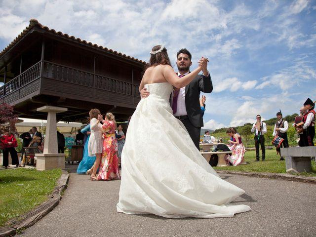 La boda de Luis Ángel y Olaya en Mieres, Asturias 1