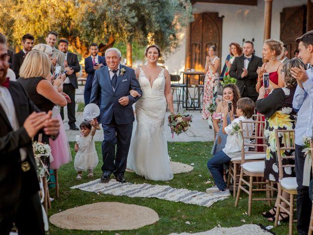 La boda de Jose y Cristina en Beniflá, Valencia 38