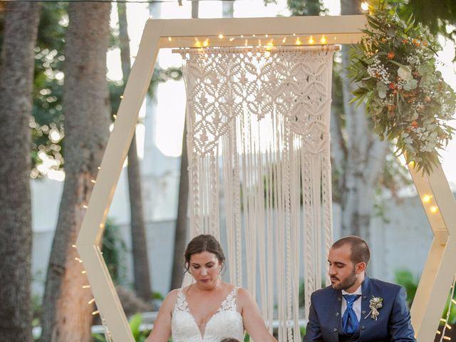 La boda de Jose y Cristina en Beniflá, Valencia 40