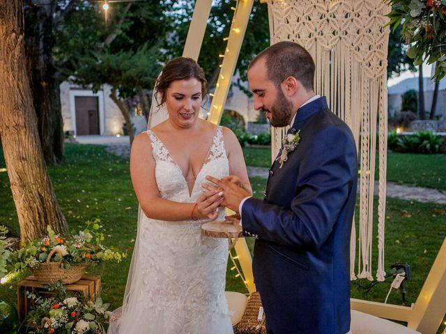 La boda de Jose y Cristina en Beniflá, Valencia 42