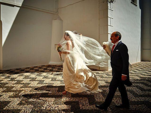 La boda de Carlos y Nuria en Villafranca De Los Barros, Badajoz 15