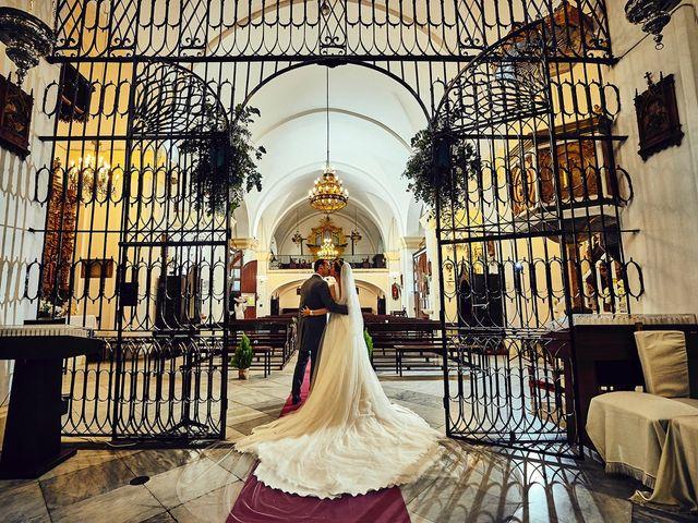 La boda de Carlos y Nuria en Villafranca De Los Barros, Badajoz 19
