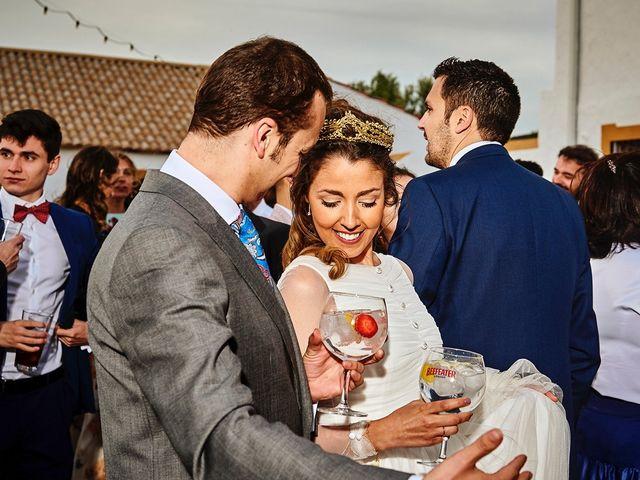 La boda de Carlos y Nuria en Villafranca De Los Barros, Badajoz 2