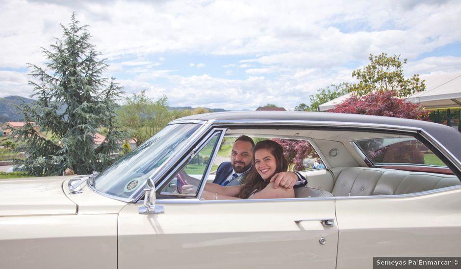 La boda de Luis Ángel y Olaya en Mieres, Asturias