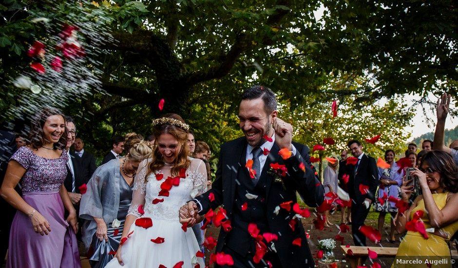 La boda de Luis y Eva en Arbucies, Girona