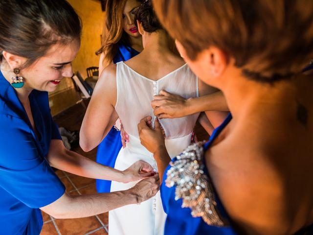 La boda de Edward y Nuria en Torremocha Del Jarama, Madrid 17
