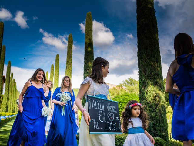 La boda de Edward y Nuria en Torremocha Del Jarama, Madrid 27
