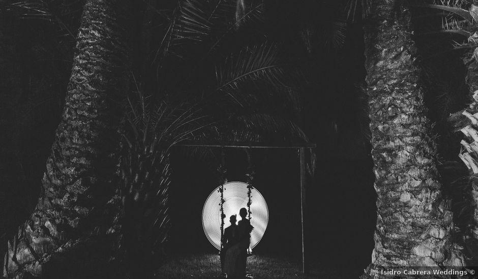 La boda de Cristian y Grima en Galdar, Las Palmas