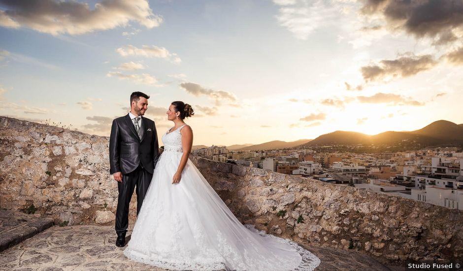 La boda de Andres y Inma en Santa Maria (Isla De Ibiza), Islas Baleares