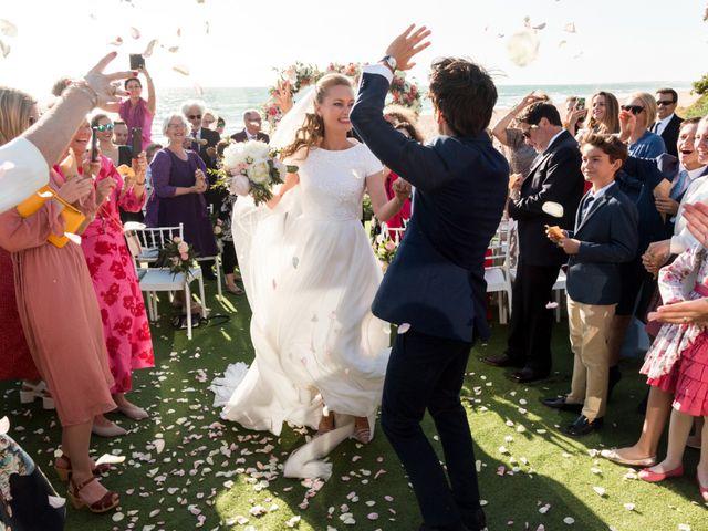 La boda de Eduardo y Charlotte en Conil De La Frontera, Cádiz 1