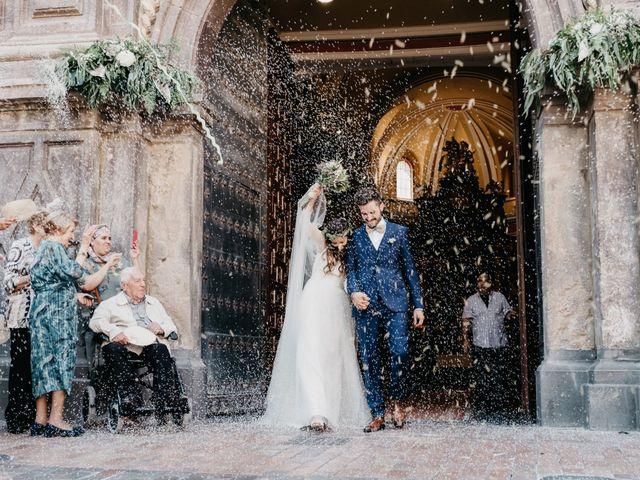 La boda de Vicente y Adriana en Pedrola, Zaragoza 30
