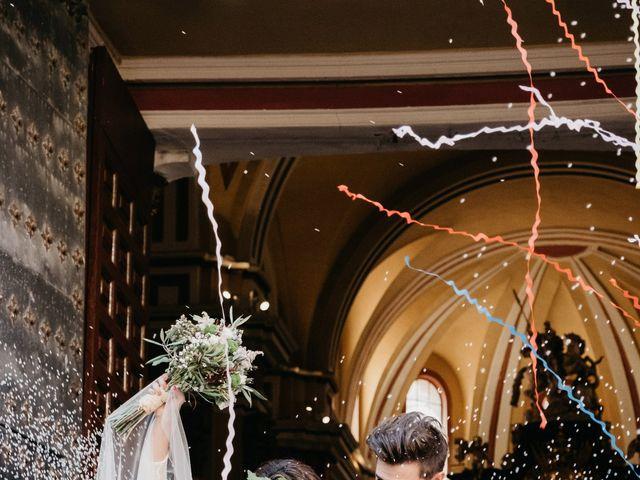 La boda de Vicente y Adriana en Pedrola, Zaragoza 51