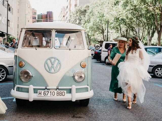 La boda de Vicente y Adriana en Pedrola, Zaragoza 75