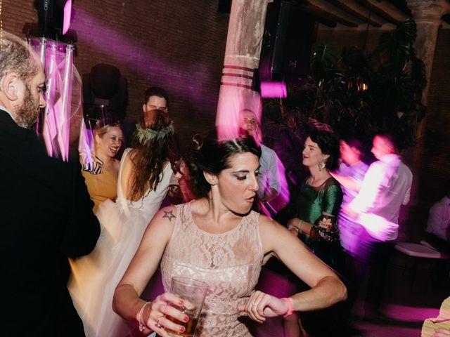 La boda de Vicente y Adriana en Pedrola, Zaragoza 110