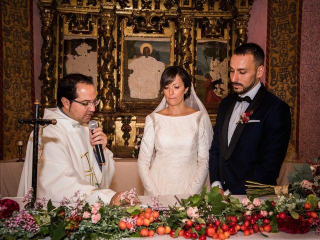 La boda de Dani y Ester en Sotos De Sepulveda, Segovia 43