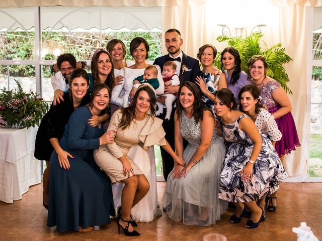 La boda de Dani y Ester en Sotos De Sepulveda, Segovia 77