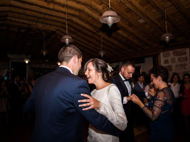 La boda de Dani y Ester en Sotos De Sepulveda, Segovia 87