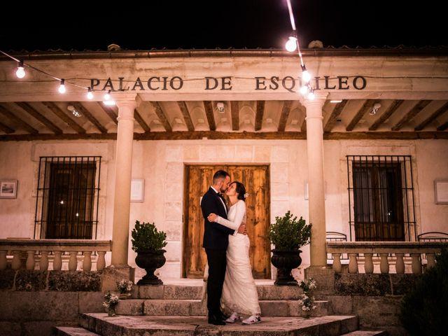 La boda de Dani y Ester en Sotos De Sepulveda, Segovia 90