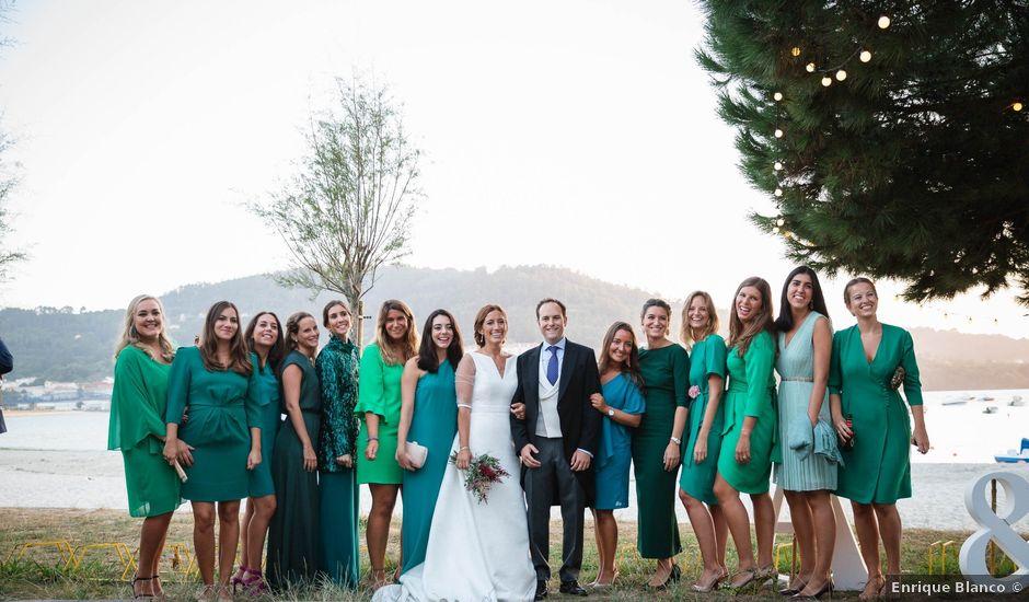 La boda de Alfredo y Loreto en Cabanas (Pontedeume), A Coruña