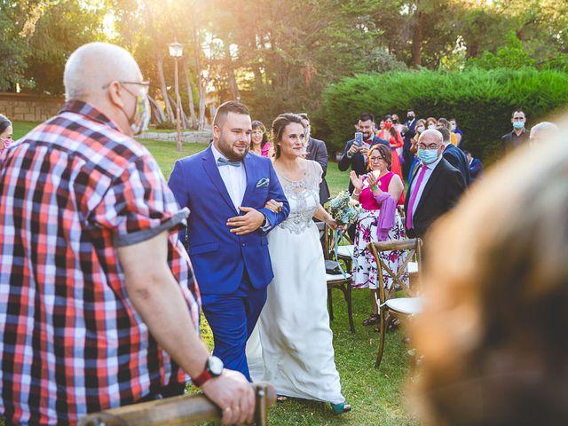 La boda de Christian y Verónica en San Agustin De Guadalix, Madrid 39
