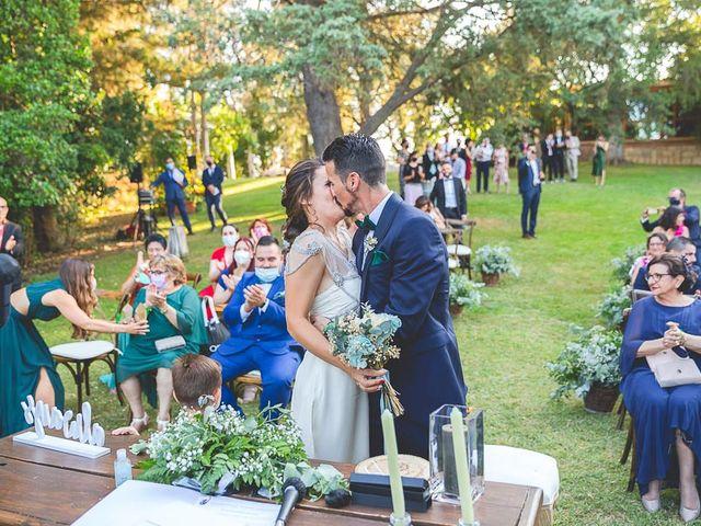 La boda de Christian y Verónica en San Agustin De Guadalix, Madrid 45