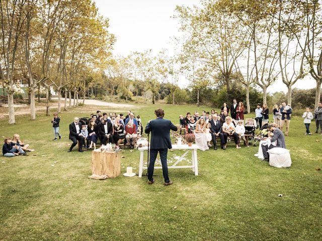 La boda de Cristian y Miriam en Sant Quirze Safaja, Barcelona 15