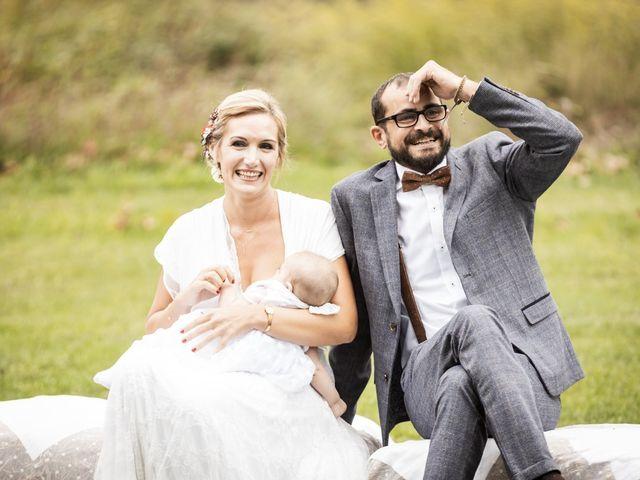 La boda de Cristian y Miriam en Sant Quirze Safaja, Barcelona 20
