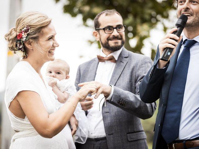 La boda de Cristian y Miriam en Sant Quirze Safaja, Barcelona 24