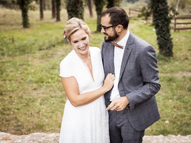 La boda de Cristian y Miriam en Sant Quirze Safaja, Barcelona 29
