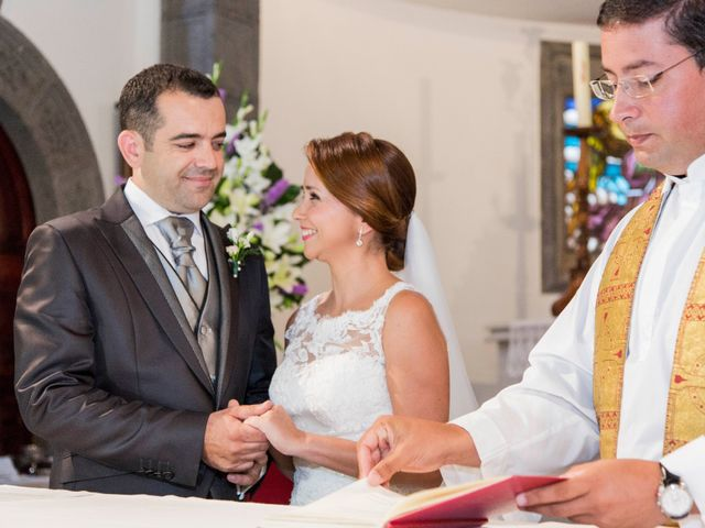 La boda de Richard  y Yolanda en Moya, Las Palmas 9
